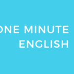 COMULINKメソッド:One Minute English